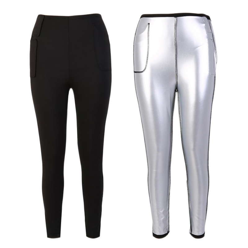 1PCS Women Lose weight Pants Hot Sweat Fitness Long Casual Tights Stretch Slimming Waist Fat Burning activewear Pants