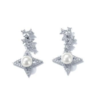 af4563a90f95 HIYONG de plata 925 pendientes de acero inoxidable de las mujeres coreanas  pendientes chicas accesorios de joyería para regalo para el amigo