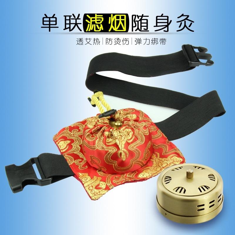 Thick Copper Smokeless Moxibustion Massager Box Belt Treatment Therapy For Body Leg Abdomen Neck Massage Care Health Tool туфли nine west 2015 dragonia