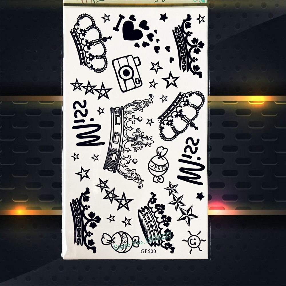 1 STÜCK Mode Ocean MARINE Temporäre Tattoo Kids Body Art Weihnachten ...