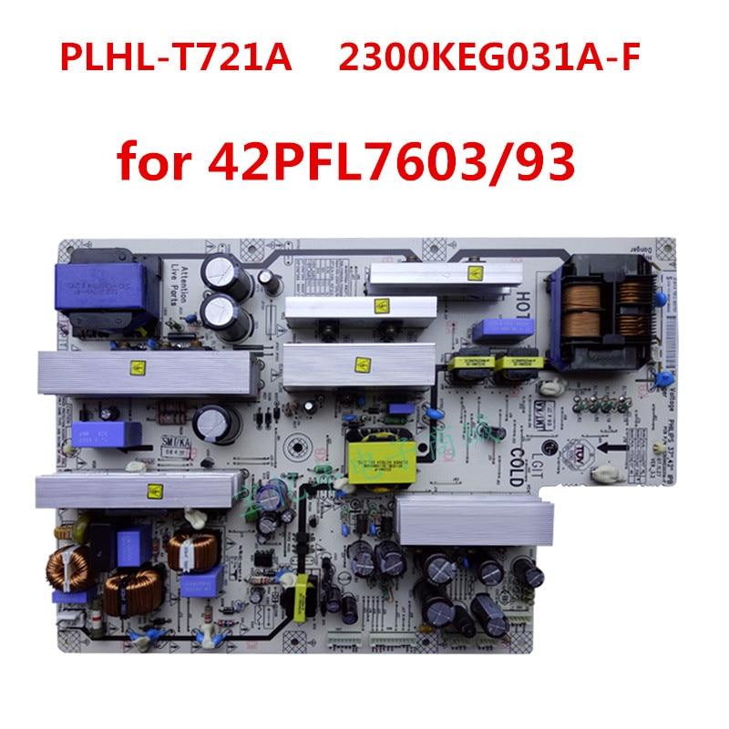 Original PLHL T721A 2300KEG031A F Power Board for 42PFL7603 93 42PFL7403 93 42PFL5403 93 Tested