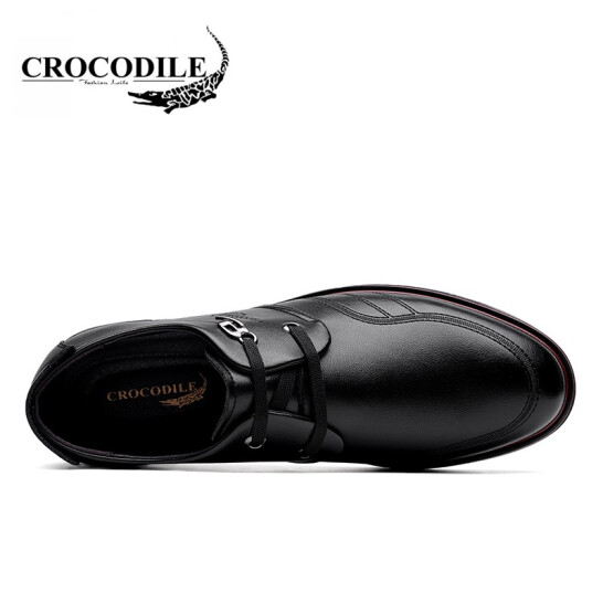 Crocodile Men Air Cushioning Leather Sneaker Footwear Casual Walking Shoes Men Running Shoes Male Light Sport Shoes Flat Loafers in Running Shoes from Sports Entertainment