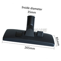 Free Shipping Inside Diameter Size 35mm Brush Head Vacuum Cleaner Accessories Multifunctional Cleaning