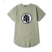 Round Collar Hem Men T Shirt Fashion Crew Neck Plain T Shirt Men Swag Hip Hop