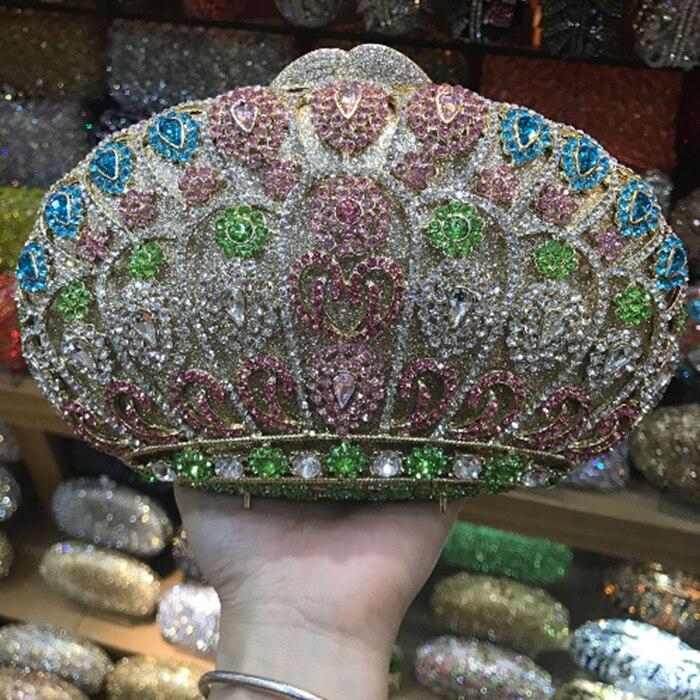 Color Mariage Embrayages Des Argent Femmes Dames Main Pictur Same Diamant Rose Jour À Sac color As De Pictur D'embrayage Rouge Soirée Forme Sacs Violet 6IOqIUwx