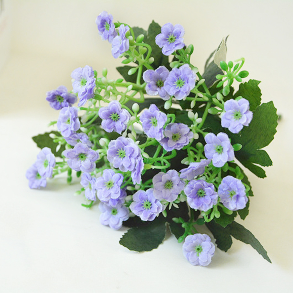 Sale New Hot 1pcs Vivid 36 Heads Silk Orchid Artificial Fake Daisy