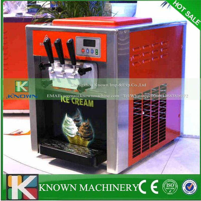 Top digital display system stainless steel table top soft ice cream machine 110v/220vTop digital display system stainless steel table top soft ice cream machine 110v/220v