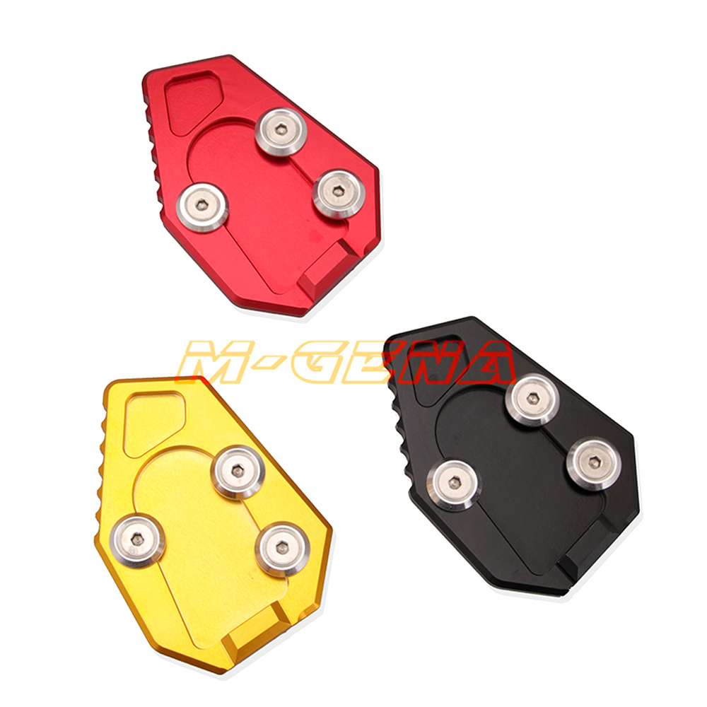 Motorcycle Side Stand Kickstand Enlarge Plate Pad For Honda CB1000R 2008-2014