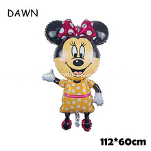 Giant Mickey Minnie Mouse Balloon Cartoon Foil Birthday Party Decorations