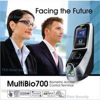 חנויות 1500 פרצופים 2000 תבניות טביעות אצבע BioEntry iFace זיהוי הפנים טוב ביצועים בסביבה חשוכה Multibio-במכשיר לזיהוי פנים מתוך אבטחה והגנה באתר