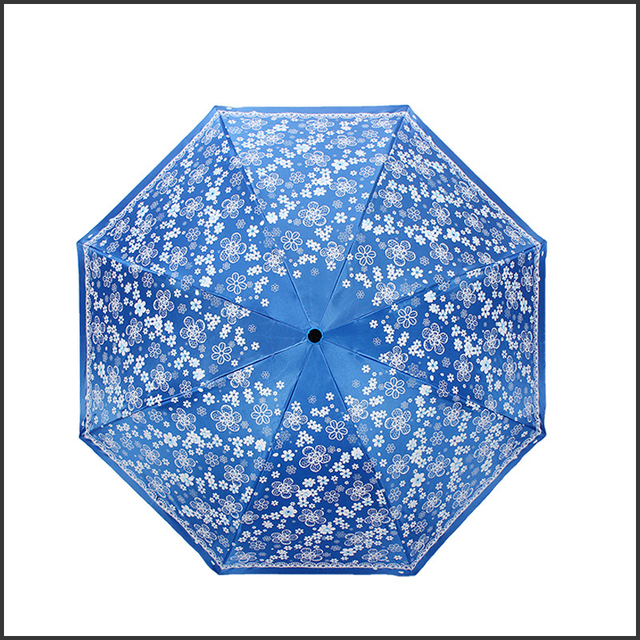 Folding Umbrella Rain Women Windproof Sombrilla Paraguas Parasols Compact Beach Sun Uv Protection