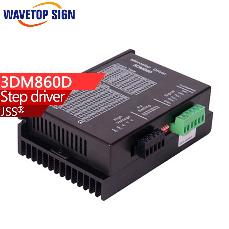 3 phase stepper motor driver  3DM860D Voltage 24-80VDC current range 2.4-7.2A three phase stepper motor driver 3d722