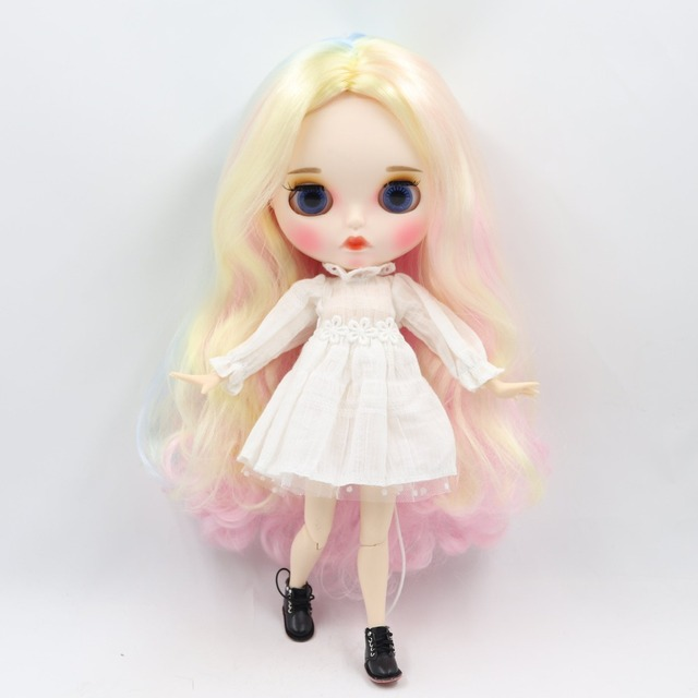 TBL Neo Blythe Doll Colorful Hair Jointed Body