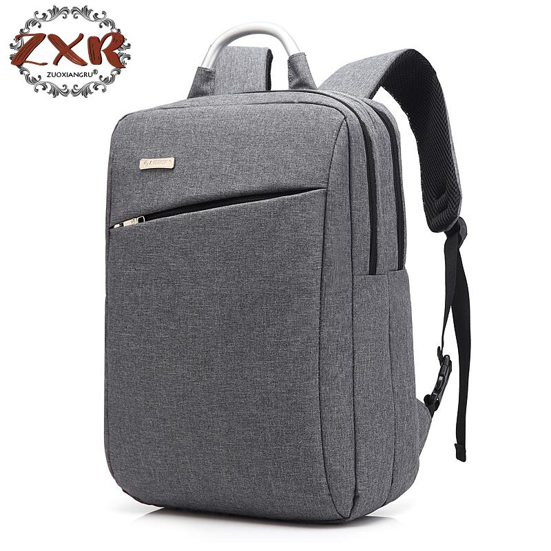 New Men's Backpacks Computer Backpack Fashion Students School Bag Brand Notebook