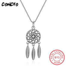 2018 Special Offer Direct Selling Pendant Necklaces Collier Sautoir Long Concho Jewelry 925 Sterling Leaf Necklace For Women