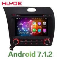 KLYDE 8 Quad Core android автомобильный DVD мультимедийный плеер Радио стерео 2 ГБ Оперативная память 3g 4G WI FI DAB + SWC для Kia K3 Forte Cerato 2013 2017
