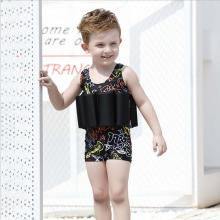 black swimwear kid boy
