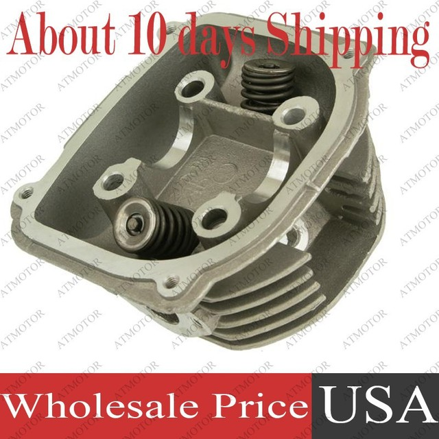 (6 sets a lot) Big Bore Cylinder Head Complete for GY6 180cc 61mm 157QMJ Engine ATV Buggy Moped Scooter (Brand New)