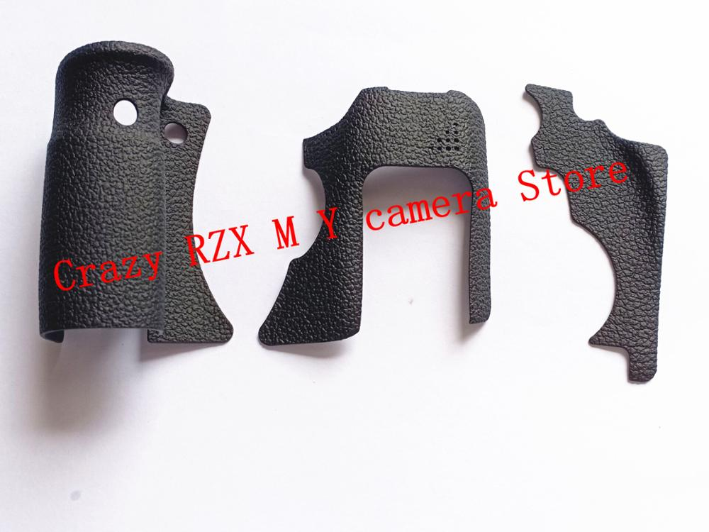 NEW Original A Set Of 3PCS/Body Rubber Front Cover And Back Cover Rubber For Canon FOR EOS 6D Repair Spare Parts