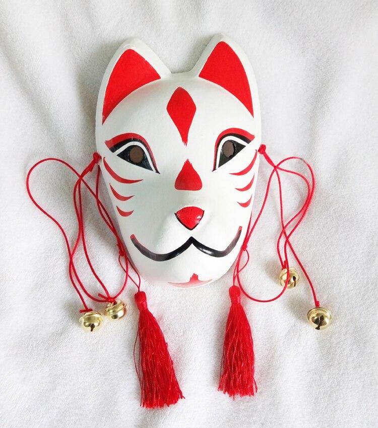 Mutig Vollgesichts Handgemalte Kamisama Kiss Liebe Momozono Nanami Cosplay Japanischen Kitsume Gips Fox Mask Party Halloween