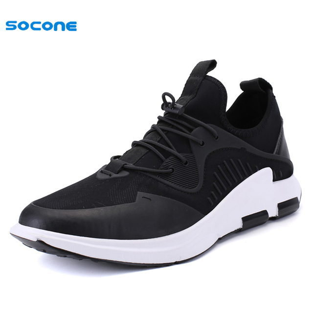 new arrival 842d1 4929e New SOCONE Leisure Men Skateboarding Shoes Summer Autumn Breathable Boy  High Top Sneakers Comfortable Sport Outdoor FL07