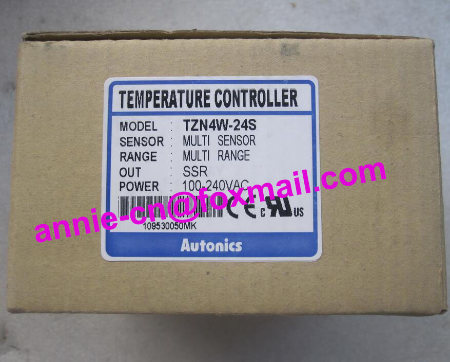 100% New and original  TZN4W-24S   AUTONICS 100-240VAC Temperature controller  original and 100