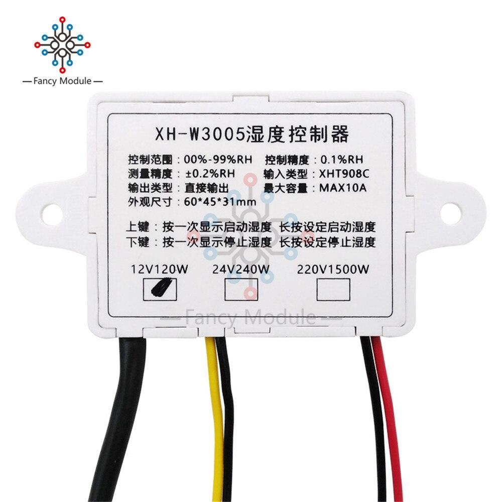 Digital Luftfeuchtigkeit Steuerung Controller Schalter Hygrostat Hygrometer