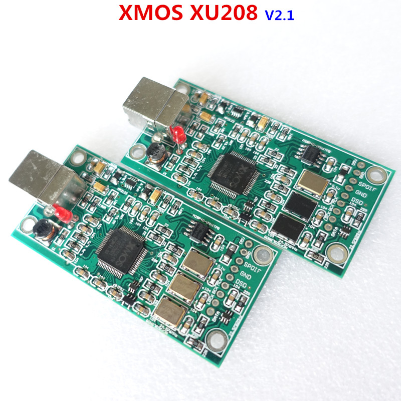 WEILIANG AUDIO XMOS XU208 USB To I2S Digital Interface 384kHz/32bit DSD256