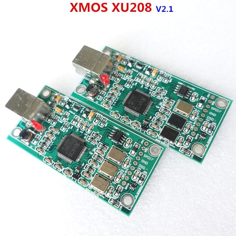 XMOS XU208 USB 384K 32B module I2S SPDIF output,support DSD for es9018 ES9028 ES9038PRO DAC breeze audio dsd usb dac es9018k2m xmos u8 op275 2 lm49860 class a earphone decoder i2s dsd usb audio amplifier amp