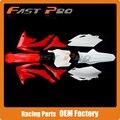 Complete Body Plastics Kits For CRF250R 10-13 CRF450R 09-12 CRF Dirt Bike MX Motocross Enduro Supermoto SM