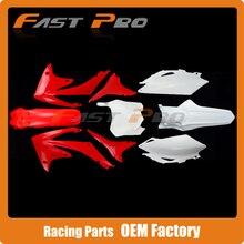 Kompletten Körper Kunststoff Kits Für CRF250R 10-13 CRF450R 09-12 CRF Dirt Bike MX Motocross Enduro Supermoto SM