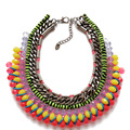 Free Shipping New Statement Chunky Choker Handmade Necklace, Collar High Quality Necklace