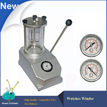 De aluminio caja de Reloj Resistente Al agua 6 ATM máquina de Prueba, 2 relojes Capacidad herramienta de Prueba para el reloj Caja de Reloj Resistente Al Agua reparación