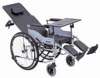Первая помощь реабилитации инвалидных колясок hbl10 bq алюминий сплав искусственная кожа группа для туалета Полный обеденный стол складной ст