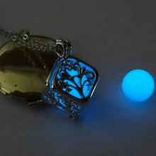 Glow in Dark Tree of Life Necklaces