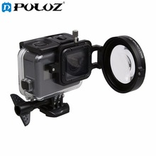 For GoPro Accessories Sport Action Camera Proffesional 58mm Macro Filter Close-up Lens Filter kit For GoPro HERO5