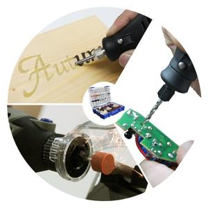 "Image 5 - 268pcs Electric Mini Drill Bit Kit Abrasive Rotary Tool Accessories Set for Dremel Grinding Sanding Polishing Cutting 1/8"" Shank"