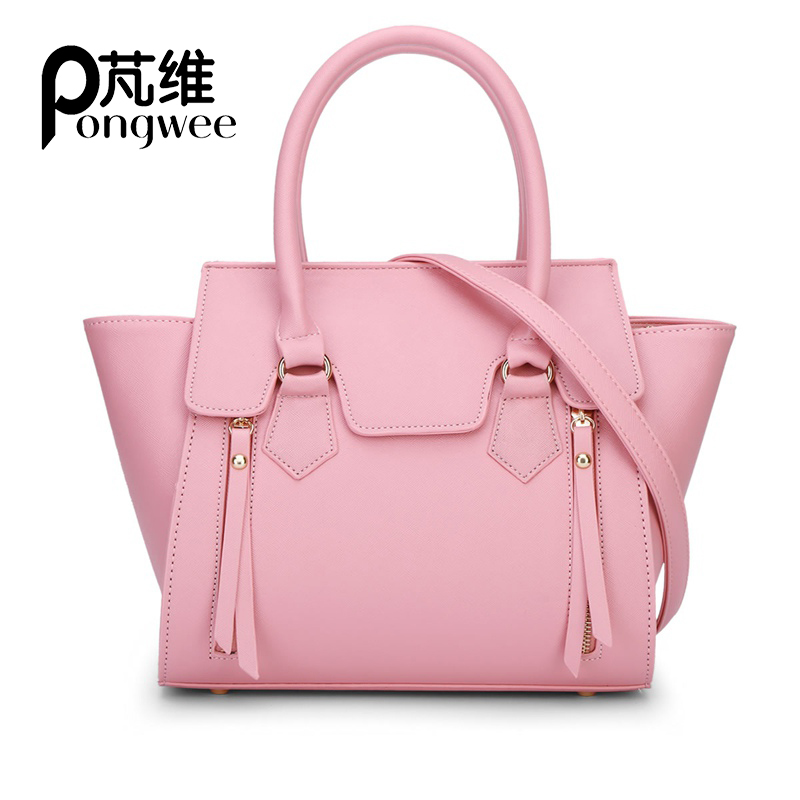 2018 New Fashion Crossbody High-quality PU Leather Big Black Casual Female Women Bag Handbag Ladies Tote Large Capacity Shoulder women bag set top handle big capacity female tassel handbag fashion shoulder bag purse ladies pu leather crossbody bag