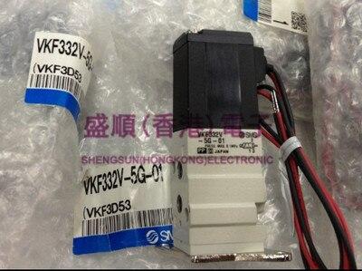 Купить с кэшбэком Solenoid valve VKF333V-5G-01/M5 VKF333-5DZ/5D-01/M5