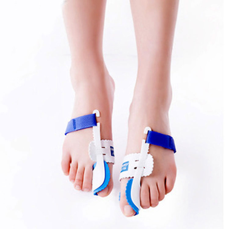 1pair Foot Massage Relaxation Hallux Valgus Bone Ectropion Toes Outer Appliance Professional Technology Health Care Products hallux valgus orthotics big toe corrector foot pain relief feet guard care bone corretivo bunion night and day used splint