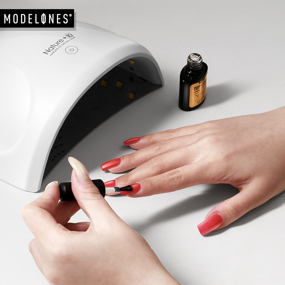 Modelones 24W LED UV Lamp Nail Dryer 12LED Nail Light Nails Gels Manicure Machine with Timer Button USB Connector Nail Art Tools