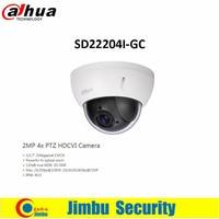 Original Dahua Security Camera 2MP 4x PTZ HDCVI Camera SD22204I GC CMOS 120dB True WDR 3D