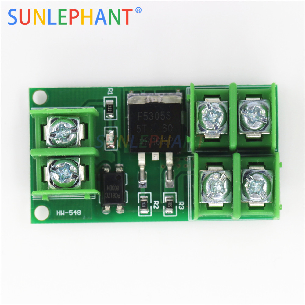 Electronic switch control board pulse triggered switch module DC control MOS field effect Optocoupler