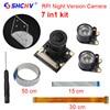 Raspberry Pi 3 Camera Focal Adjustable Night Vision Camera Module IR Sensor Light Acryclic Holder FFC