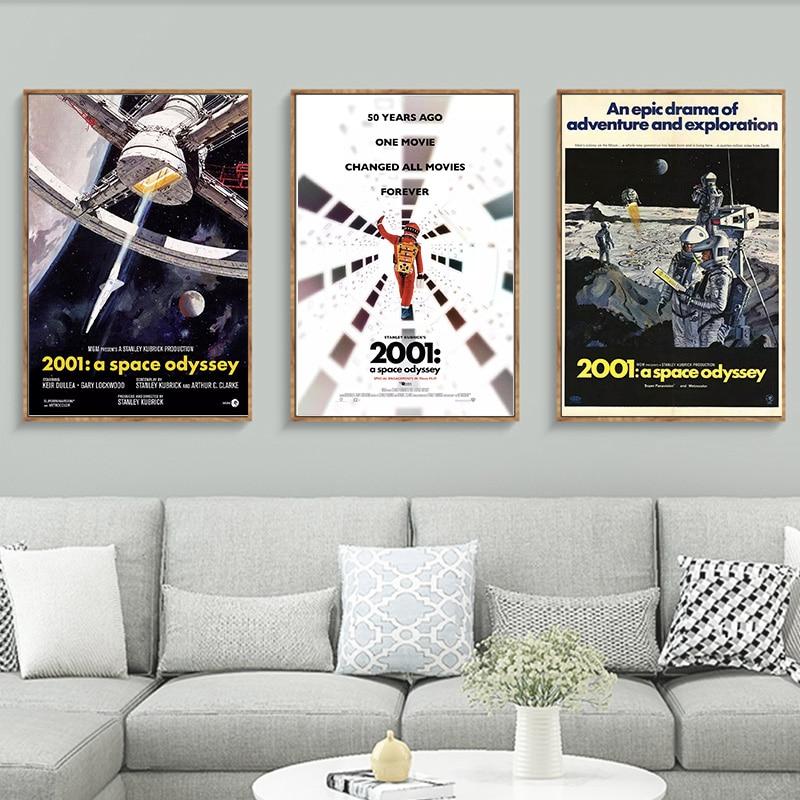 Stanley Kubricks 2001 A Space Odyssey Movie Poster Print A6 A5 A4 A3