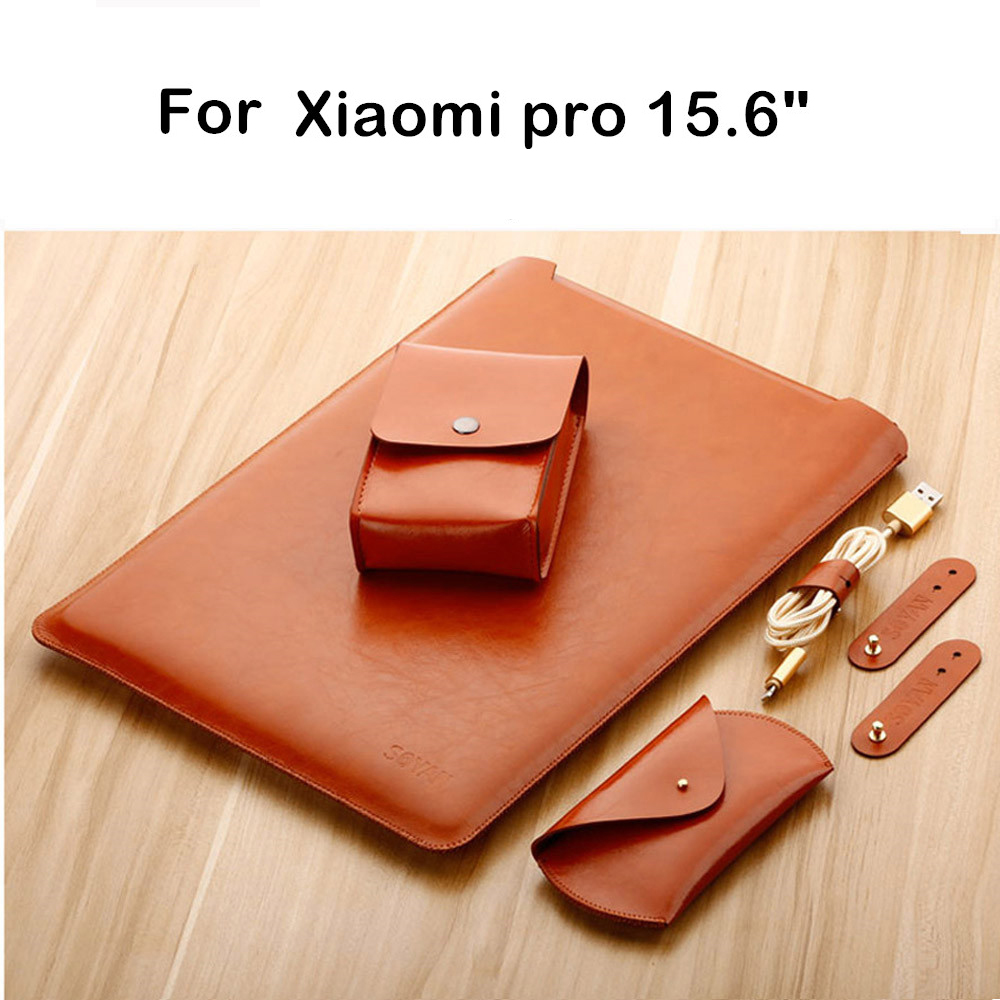 Sleeve Bag For Xiaomi Mi Pro 15.6 Mibook Laptop Protective Pouch 15 Air Notebook Case Tablet PC Keyboard Cover Stylus Gift