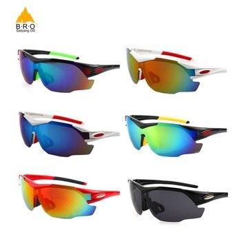03c22173da Gafas de Ciclismo polarizadas de marca caliente MTB Gafas deportivas para  hombre Gafas de Ciclismo para mujer Gafas de esquí Gafas de Ciclismo