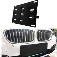 Tampon Tow kanca plaka montaj braketi tutucu için 2014 BMW F22 F55 F56 F15 X5 MINI COOPER i3