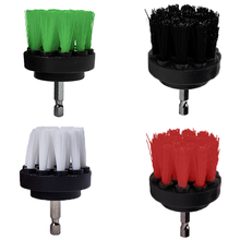 2 3.5 4 5inch Drill Power Scrub Clean Brush For Leather Plastic Wooden Furniture  Cleaning Scrub, Mutiple Colors