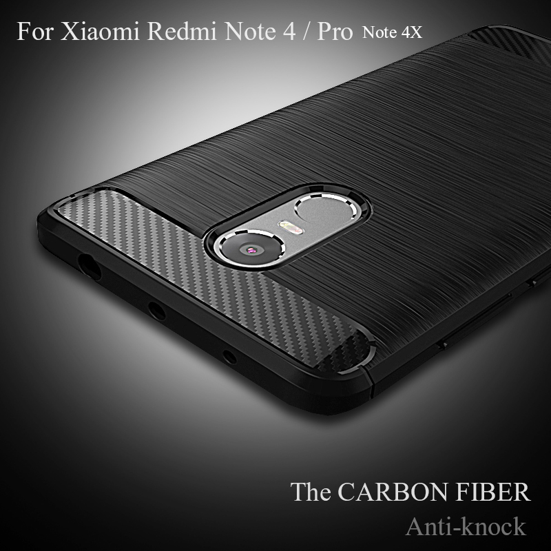 Redmi Note 4 Case Soft Silicone Back Cover Phone Case For Xiaomi Redmi Note 4 Pro Prime Anti-knock Coque Bag For Redmi Note 4X